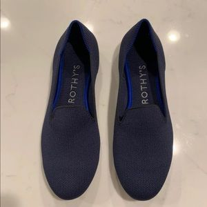Rothy's Navy Loafers Size 7